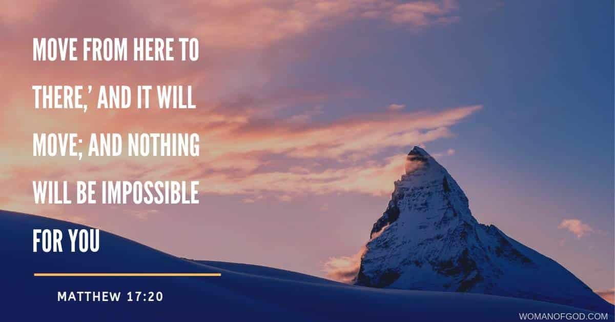Matthew 17:20 Verse Of The Day