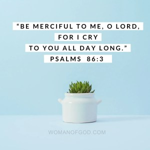 verse of the day psalm 86-3