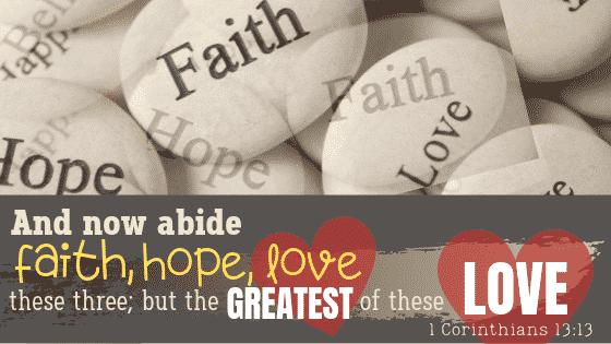 Bible Verse 1 Corinthians 13 13