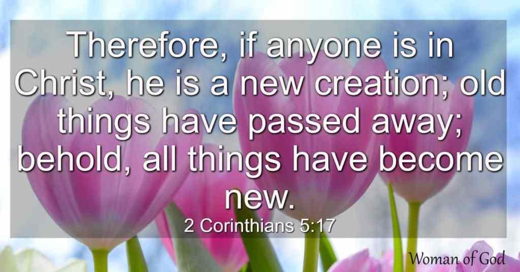 2 Corinthians 5:17 Bible Verse