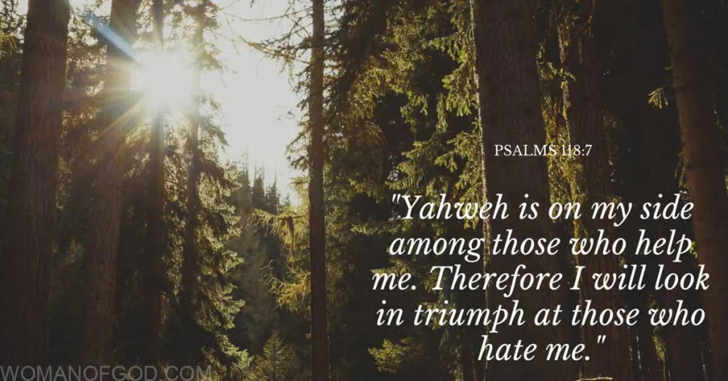 psalm 118:7