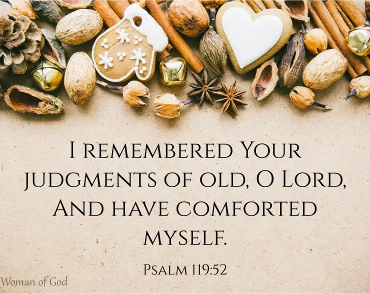 psalm 119 52