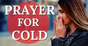 prayer for cold