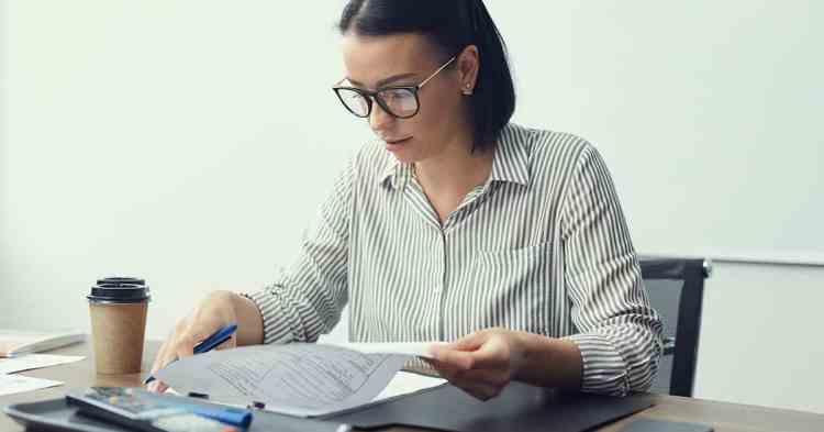 christian woman working