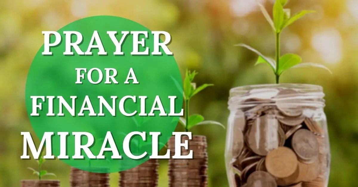 prayer for a financial miracle ft
