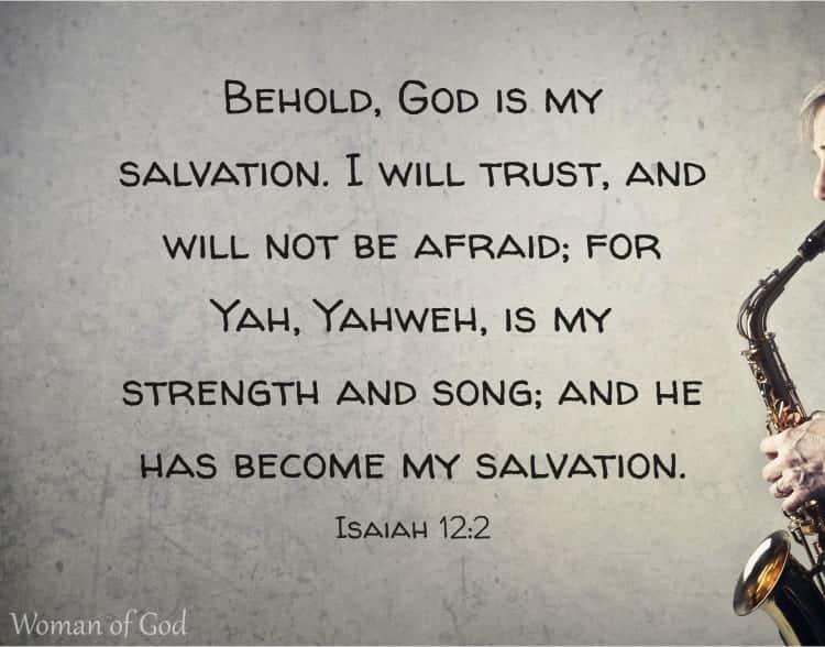 Isaiah 12:2 Bible Verse
