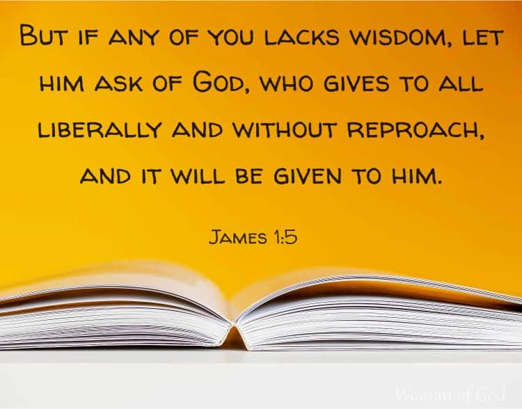 James 1:5 Bible Verse