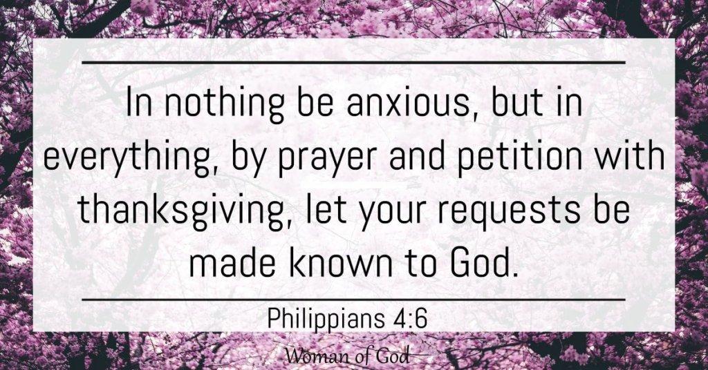 Philippians 4:6 bible verse