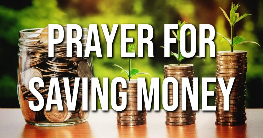 Prayer For Saving Money
