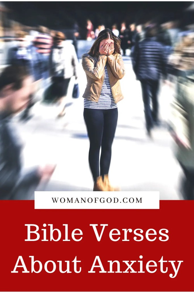 Bible Verses About Anxiety pins