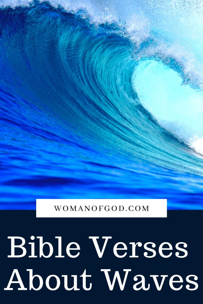 Bible Verses About Waves pins -