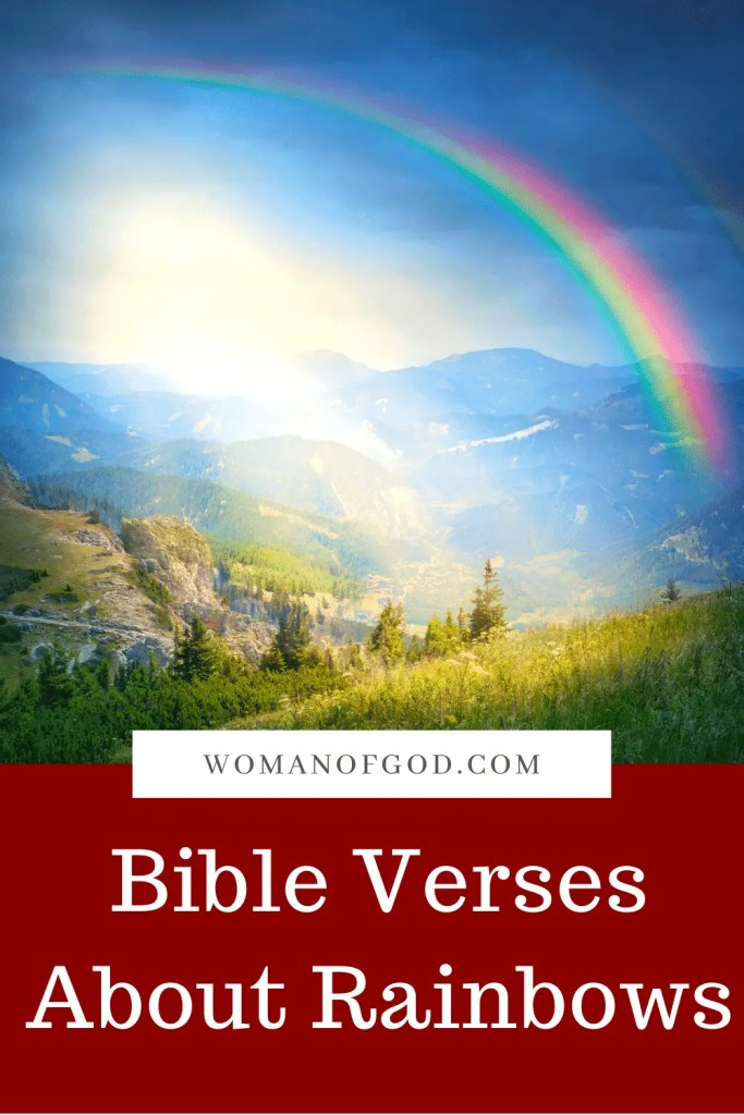 Bible Verses About Rainbows pins