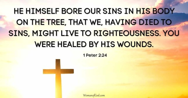 Verse of the Day 1 Peter 2:24