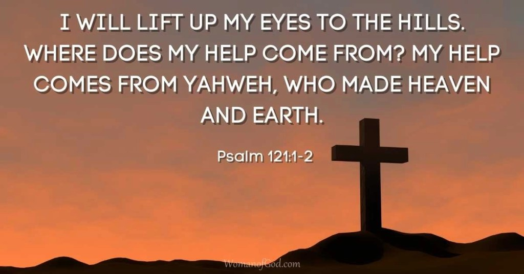 Verse of the Day Psalm 121-1-2