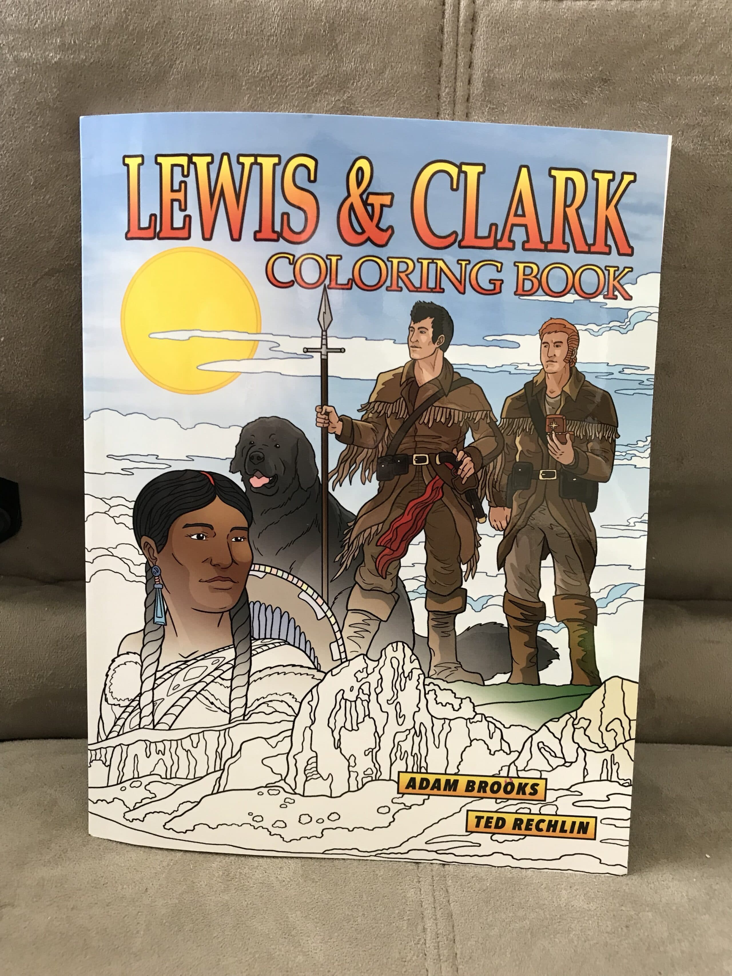 Lewis And Clark Coloring Book Woman Of Many Roles