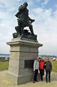 20140602_104649 Jacques Cartier statue