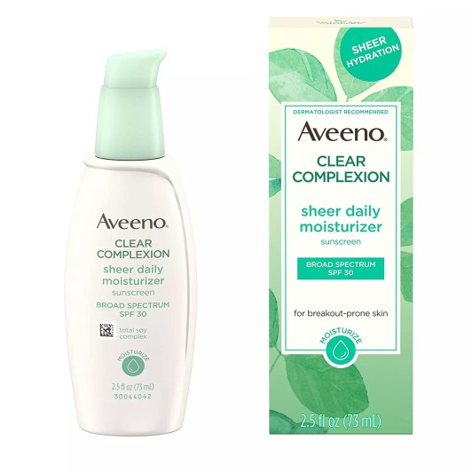 Aveeno Clear Complexion Sheer