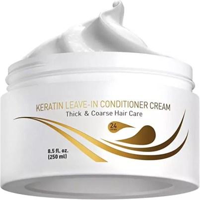 keratin conditioner cream
