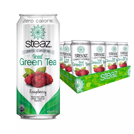 Steaz Organic Zero Calorie Iced Green Tea