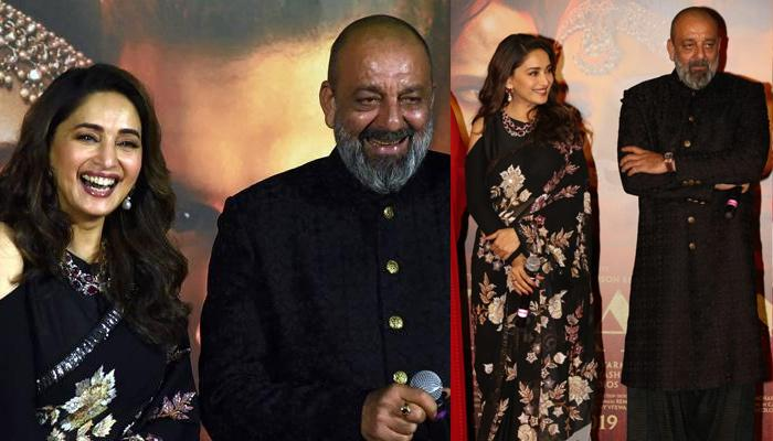 Madhuri Dixit addresses Sanjay Dutt as 'sir', Here Is The