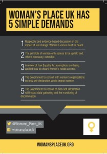 new 5 demands flyer