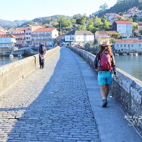 El Camino Portugués por tierras de Pontevedra