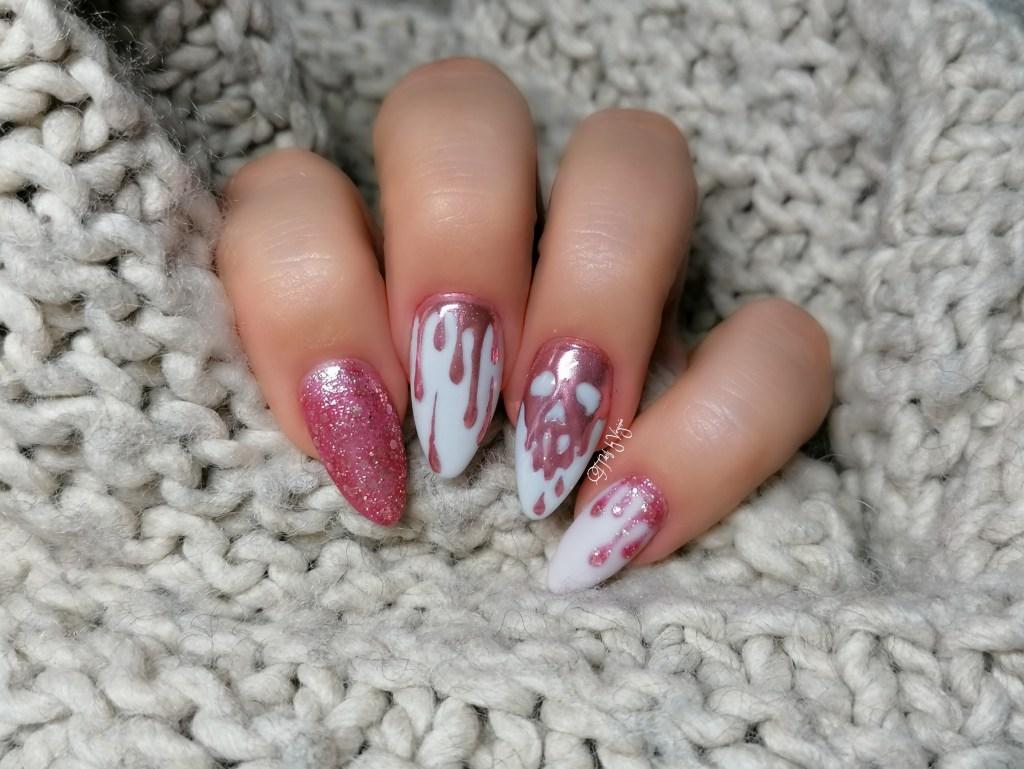 Tutorial nail art unghie avvelenate, passo passo per fare la apple poisoned manicure.