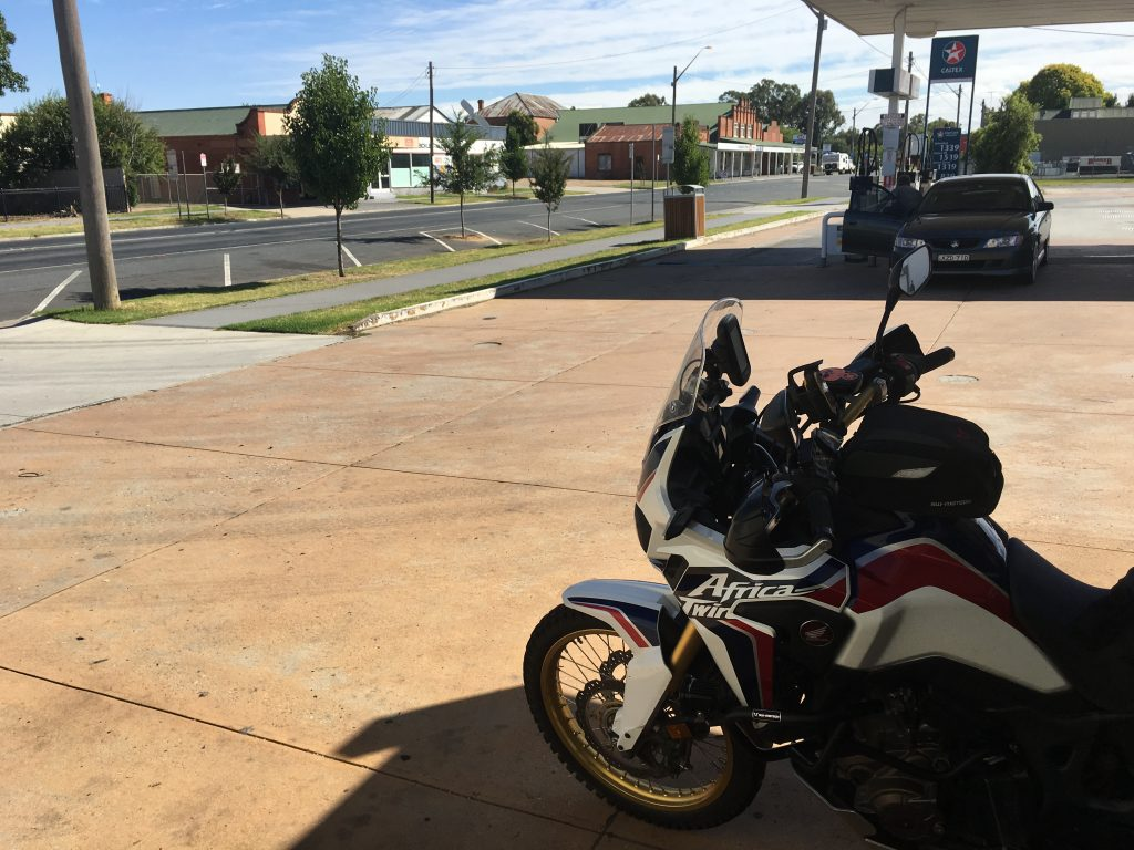First IBA Ride for the Africa Twin - Wombattle's Iron Butt Rides