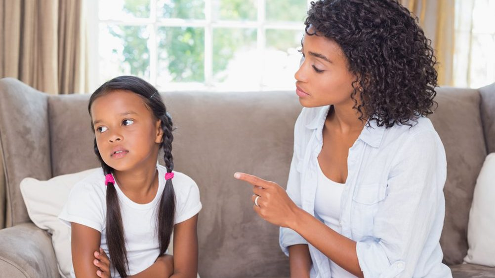 RESPONDING OR REACTING TO CHILDREN'S CONDUCT
