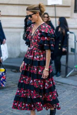 ff1870409193 Tkanina v klietke rôznej veľkosti je veľmi obľúbená av špeciálnom trende -  skladané sukne. Plicing sa používa aj na šaty ...