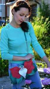 Small Designer Handbags. Orchid Mini by Diana Ulanova