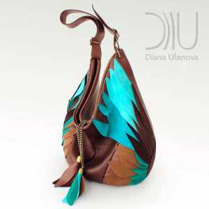 Designer Shoulder Bags For Women. Totem 2 by Diana Ulanova. Buy on women-bags.com