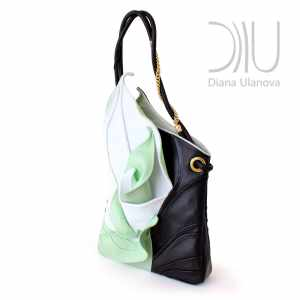 Designer Top Handle Bags. Calla Green 2 by Diana Ulanova. Buy on women-bags.com