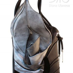 Designer Handbags For Women. Calla Silver/Black by Diana Ulanova. Buy on women-bags.com