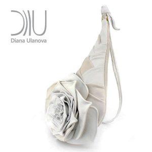 Designer Shoulder Bags On Sale. Rose Beige/ Brown1 by Diana Ulanova. Buy on women-bags.com