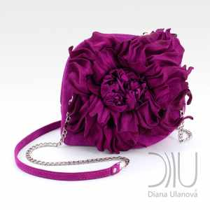 Mini Designer Bags. Peony Mini Purple by Diana Ulanova. Buy on women-bags.com