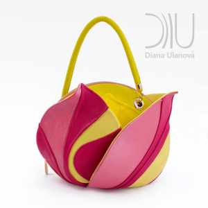 Womens Designer Handbags. Burgeon Sacvoyage Yellow by Diana Ulanova. Buy on women-bags.com
