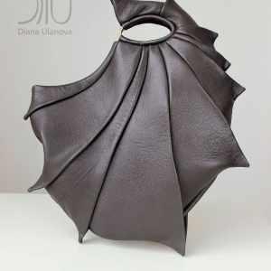 Designer Top Handle Bags. Nautilus Grey by Diana Ulanova. Buy on women-bags.com