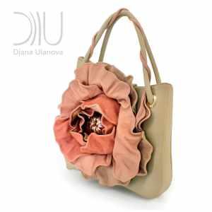 Female Designer Handbags. Poppy Beige 2 by Diana Ulanova. Buy on women-bags.com