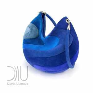Women Designer Bag. Yin &Amp; Yang Blue by Diana Ulanova. Buy on women-bags.com