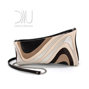 Clutch Bags Designer Sale. Antique Black pink by Diana Ulanova. Buy on women-bags.com