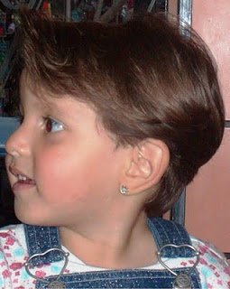 قصات شعر بنات صغار قصيره