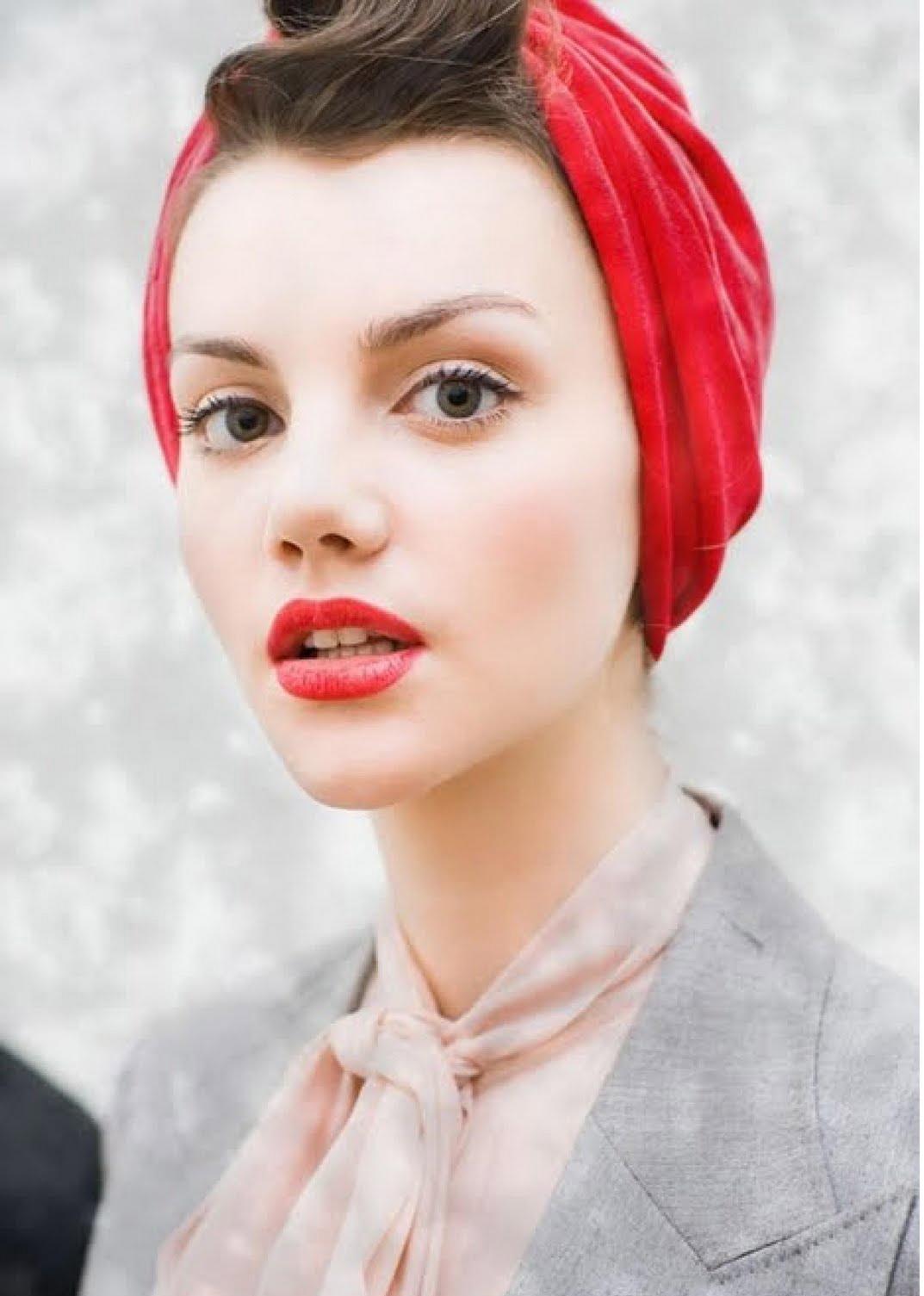 turbans for short hair