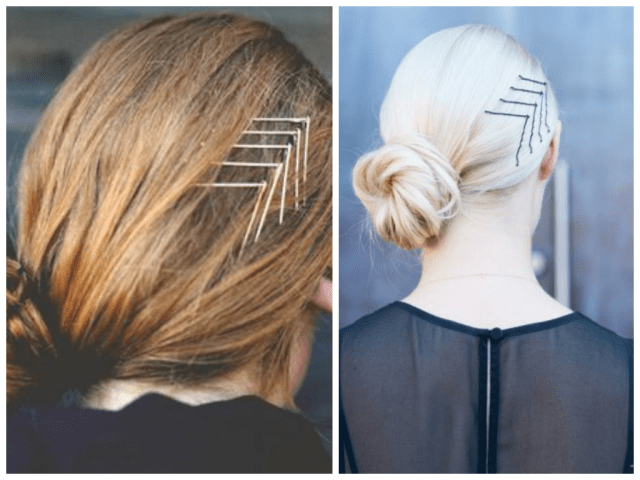 how to style your bobby pins - women hairstyles