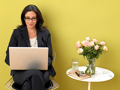 Business Women Networking Online