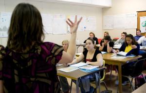 Community college classroom