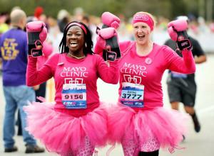 Breast canncer run
