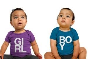 Girl baby boy