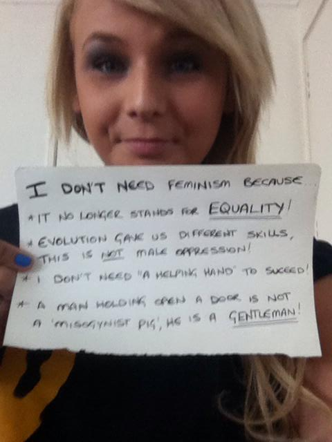 Feminism No Longer Stands For Equality
