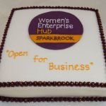 Cake for official opening of the Women's Enterprise Hub Sparkbrook